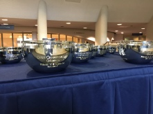 May Championship 2017 Trophies